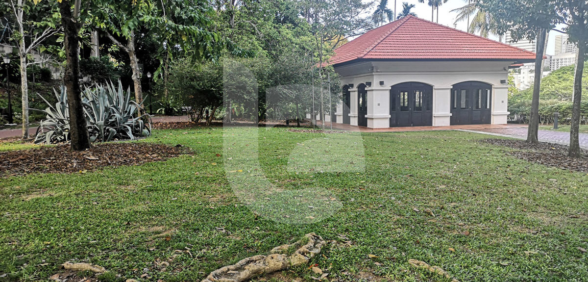 Raffles House and Lawn